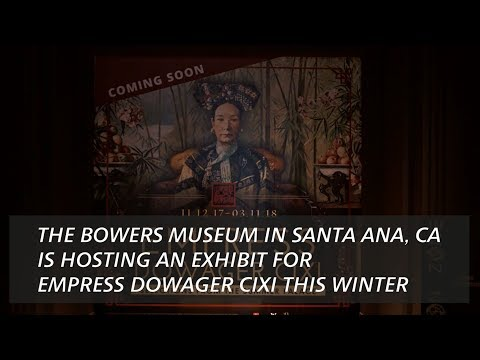 The Exclusive Carrier of the Empress Dowager Cixi
