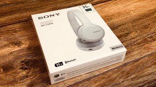 Sony WH-CH510 Bluetooth Kopfhörer - Günstig mit langer Akku Laufzeit - Unboxing & Review