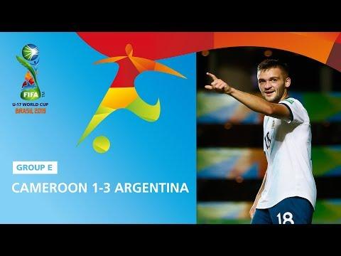 Cameroon v Argentina Highlights - FIFA U17 World Cup 2019 ™