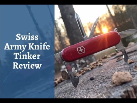 EDC Update Swiss Army Tinker Knife Review SAK