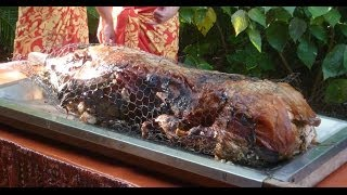 preview picture of video 'Traditional Hawaiian Pig Roast'