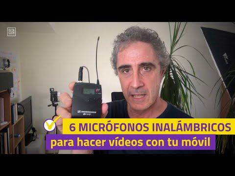 6 micrófonos inalámbricos para hacer vídeos con tu móvil