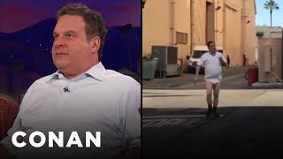 Jeff Garlin Doesn't Wear Pants At Work  - CONAN on TBS
