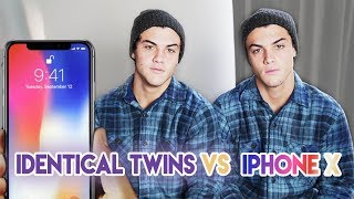 Twins Vs. iPhone X Face ID