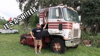 I Bought A Cab Over 2 Stroke Diesel Semi Truck!!