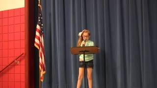 161013_Shaw Elementary Student Council Speeches 2016
