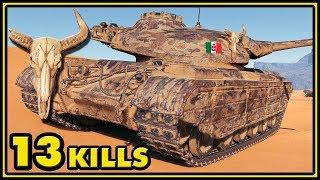 Progetto 46 - 13 Kills - 1 vs 5 - World of Tanks Gameplay