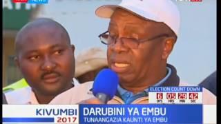 Je, wakaazi wa kaunti ya Embu wanamatakwa gani? Kivumbi 2017