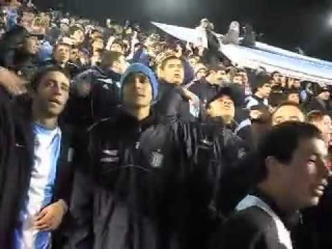 """Aca esta la gloriosa banda de la academia.."" Barra: La Guardia Imperial • Club: Racing Club • País: Argentina"