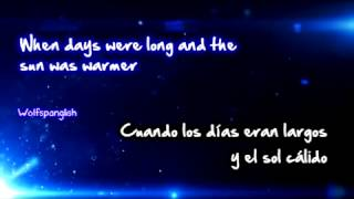 Daughtry - Baptized - The World We Knew (Ingles - Español)