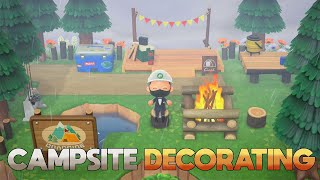 Decorating My Campsite (Timelapse) | Animal Crosssing New Horizons