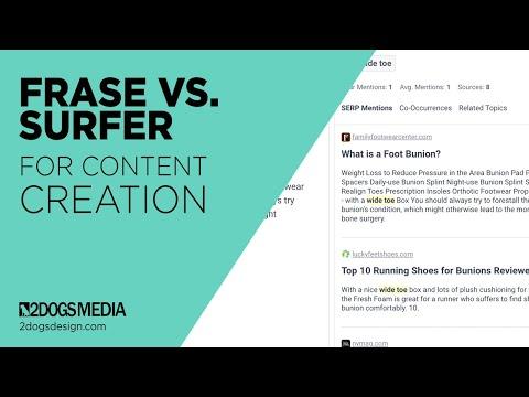 Frase vs. Surfer For Content Creation