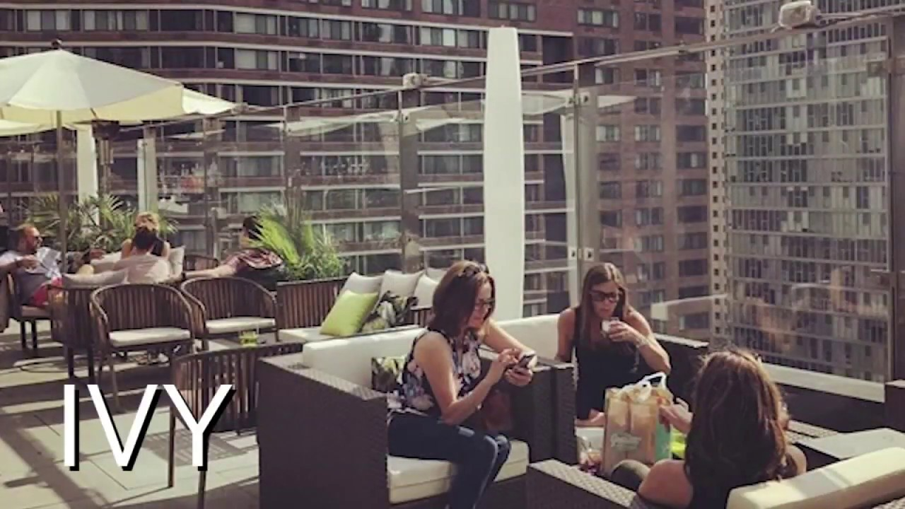 Have a Drink at a Rooftop Bar