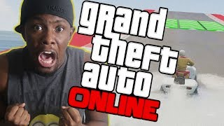 I'M IN FIRST PLACE! I JUST MIGHT WIN! - GTA 5 Online Race Funny Moments
