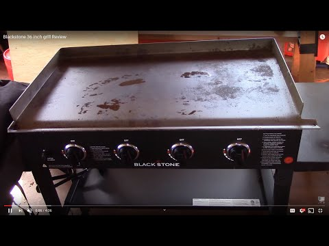 Blackstone 36 inch grill Review