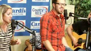 "Danny Gokey ""Life on Ya"" (partial) 08/25/10 Country 102.5"