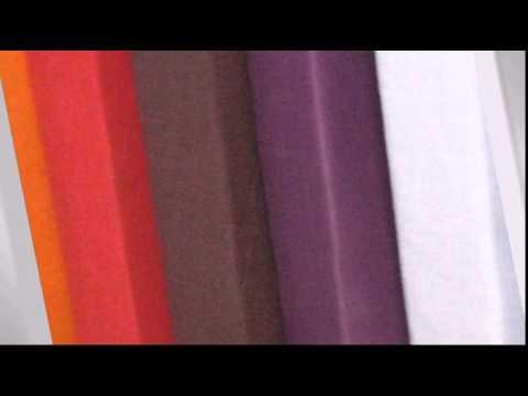 Kissenhülle aus Baumwolle im Doppelset, 2 Stück je 40x80 cm, Farbe blau - Empressia.de