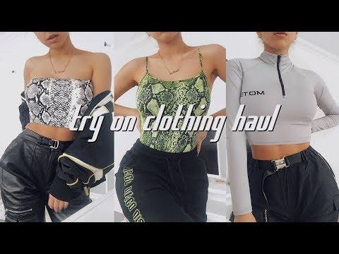 HUGE TRY ON CLOTHING HAUL - (IG STREETWEAR) SPRING 2019