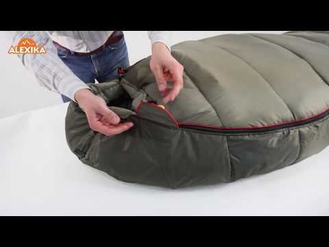 Смотреть видео Спальный мешок Alexika Iceland