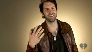 Josh Kelley Makes An Origami Dollar Ring (iHeartRadio Live Series)