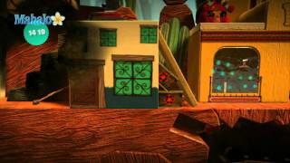 Little Big Planet Walkthrough - The Canyons - Boom Town (Part 1)
