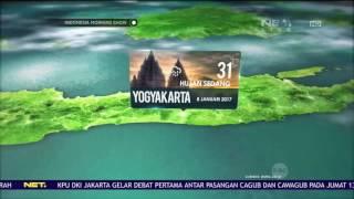 Live Prakiraan Cuaca Disejumlah Wilayah Di Indonesia 8 Januari 2017