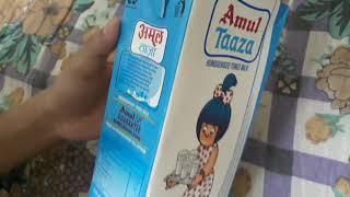 Amul Taaza Homogenized milk review