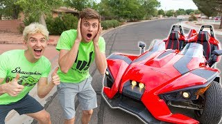 SURPRISING MY BROTHER WITH HIS DREAM TOY!!