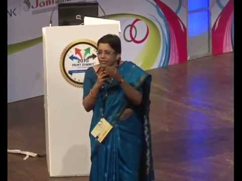 Print Summit 2013 : Dr Subhada Rao-Know Your Productivity Part 1