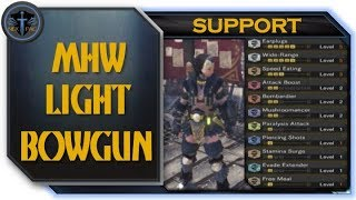 monster hunter world light bowgun support build - Thủ thuật máy tính