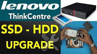 Lenovo ThinkCentre Mini PC SSD HDD Upgrade GUIDE