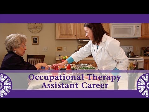 The Occupational Therapy Assistant Career Explained - YouTube