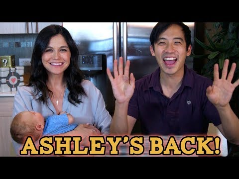 Ashley is back with a BABY! We answer your questions!