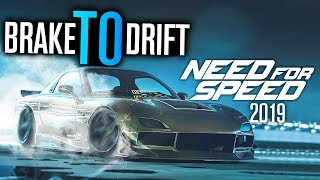 Will Need for Speed 2019 END Brake to Drift?
