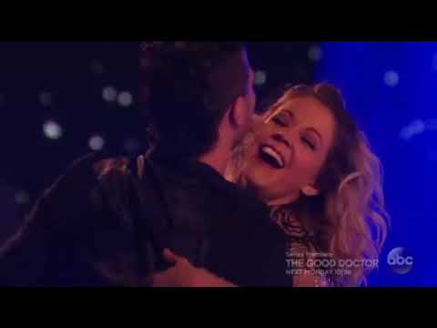 (HD) Lindsey Stirling and Mark Ballas Cha-Cha-Cha - Dancing With the Stars Premiere