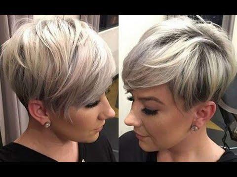 Женские стрижки 2019 на короткие волосы. Модные прически.