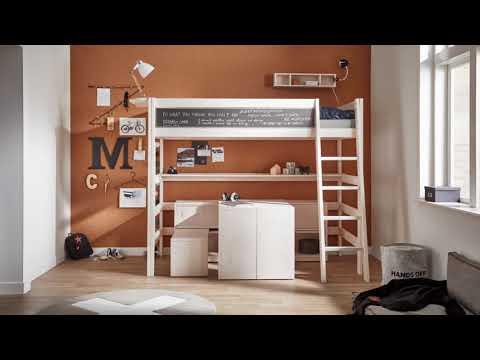Hochbett und Schreibtisch eine gute Kombination - Lifetime