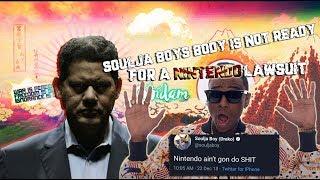 Soulja boy's body is not ready for a Nintendo Lawsuit