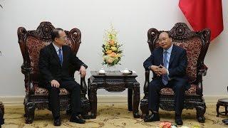 Thủ tướng tiếp Chủ tịch Phòng Thương mại Hong Kong - Việt Nam