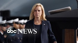 Homeland Security secretary leaves the Trump administration
