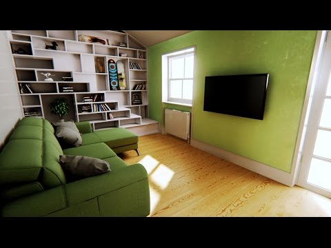 ILA - Industrial Loft Apartment - Unreal Engine 4 Archviz