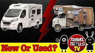 Should We Buy A New Or Used Motorhome?