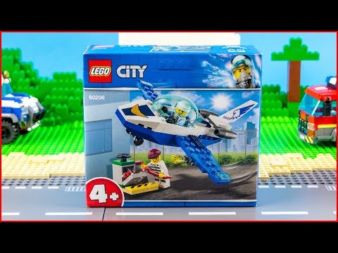 LEGO CITY Jet Patrol 60206 Construction Toy - UNBOXING