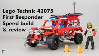Lego Technic 42075 First Responder unboxing, review & speed build
