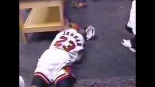 Michael Jordan - Emotional moment