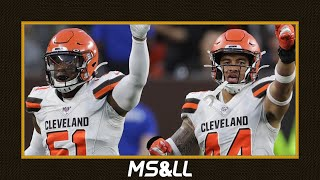 Pressure on Mack Wilson & Sione Takitaki to Deliver Big at Linebacker for the Browns - MS&LL 8/6/20