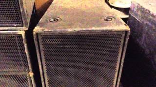 MSL- 4 MTS- 4 Meyer Sound Professional Grade Speakers
