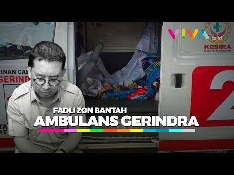 Ricuh Aksi 21/22 Mei, Fadli Zon Bantah Ambulans Partai Gerindra Pembawa Batu