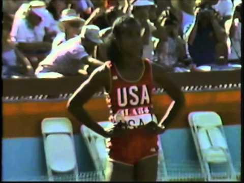 1984 Olympic Games   Women's 4x100 Meter Relay