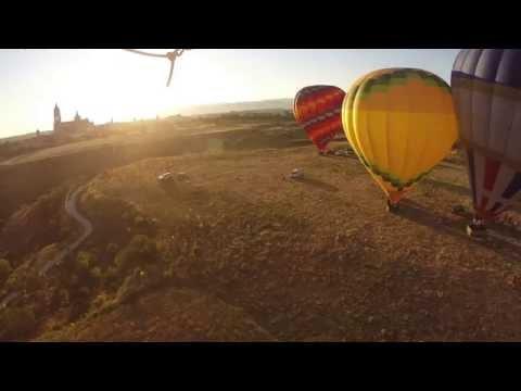 Paseo en globo en Segovia